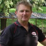 Paul Koczak z Australii na iłżeckim zamku