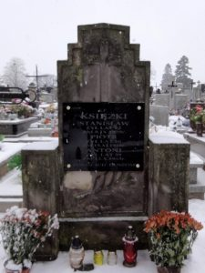 grob-piotra-i-stanislaw-ksiezkich-obaj-zgineli-pdczas-ii-wojny-swiatowej