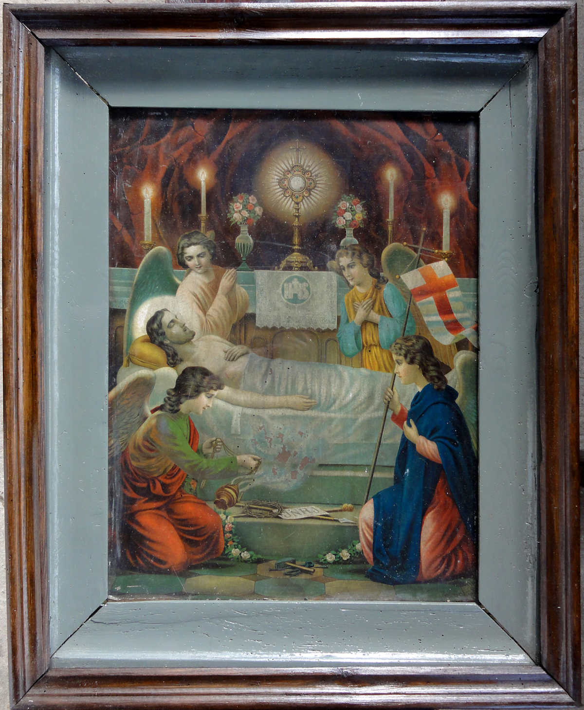 Zabytkowy obraz dla kapliczki zamkowej
