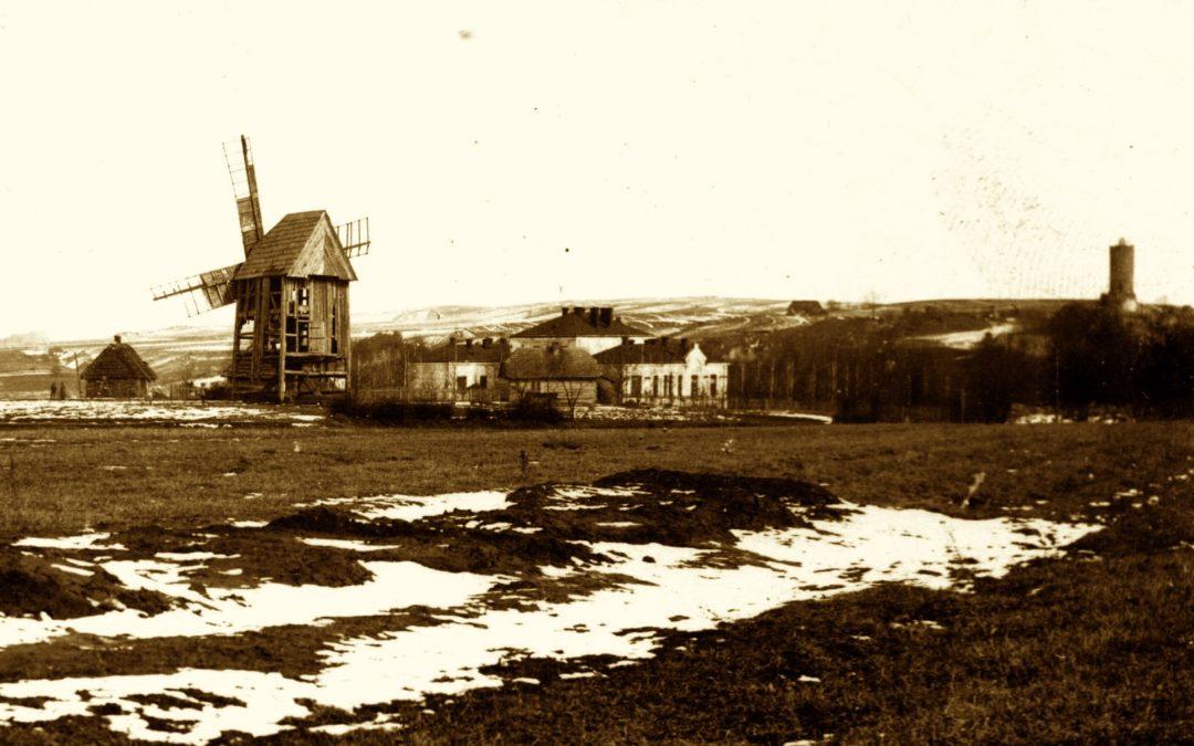 Iłża i jej okolica wiatrakami stojąca