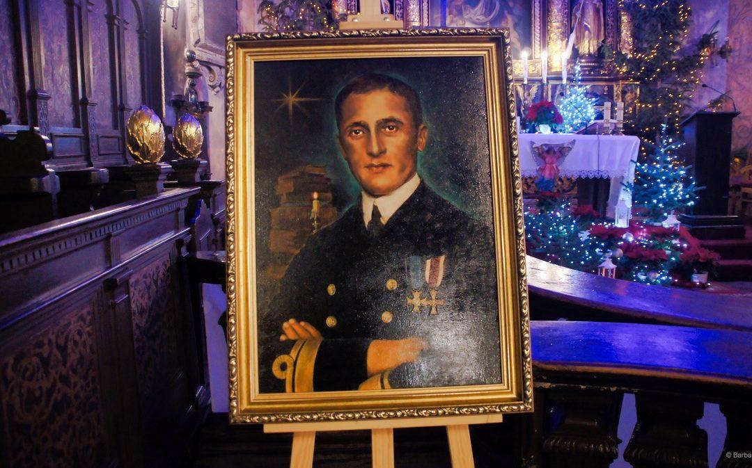 Poświęcenie obrazu błogosławionego księdza Władysława Miegonia